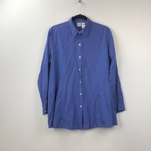 🔥Duo Maternity Periwinkle Blue Button-up Shirt